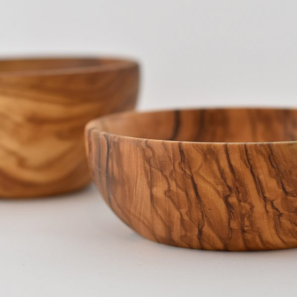 Made in Italy Olive Wood Bowl. Artisan Product