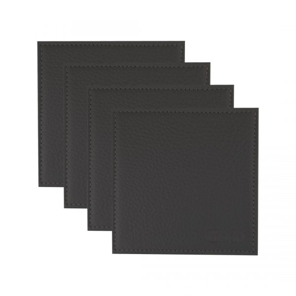 Handmade in Italy Leather Table Accents Coasters and Placemats